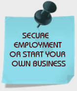 Secure employment